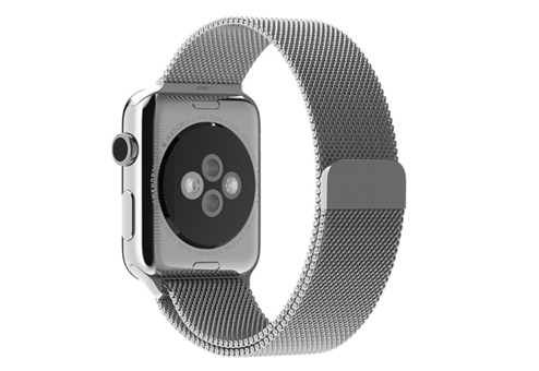 Ремешок Apple Watch 42мм Milanese Silver