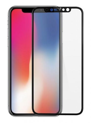 Защита стекла iPhone X 4D(полноразмерное)