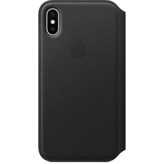 Чехол iPhone X Apple Leather Smart Case